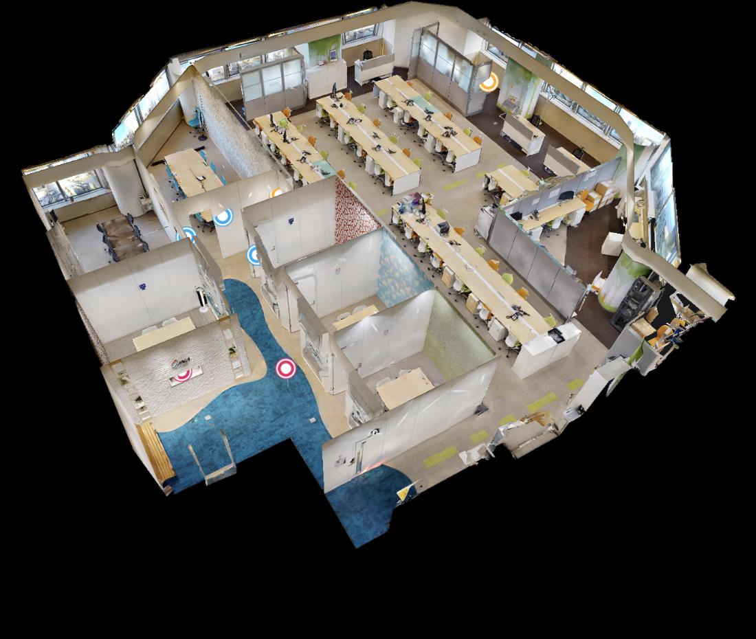 VR社内マップ